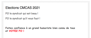 Elections CMCAS 2021